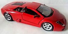 Maisto Lamborghini Murcielago RED with GRAY INTERIOR 1:24 Scale DieCast