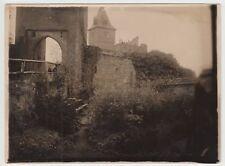 (F15480) Orig. Foto Burg Frankenstein (Odenwald), Burgtor 1920er