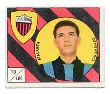 FIGURINA    CALCIATORI   VAV  1958-59    NR  186   CHIUMENTO      ATALANTA