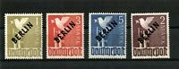 Berlin (West) 1949 Mi.Nr. 17-20 with Black Overprint - fine MNH ,SIGNED