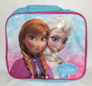 Kids Official Disney Frozen Elsa & Anna Character School Lunch Bag
