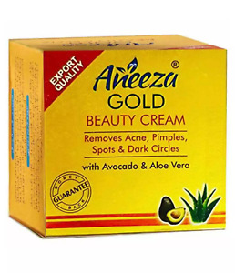 Aneeza Gold Beauty Whitening Cream 100% Original Face Skin For Remove Pimples