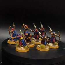 Pro painted warhammer LoTr Haradrim warriors ×8 #4 middle earth games workshop