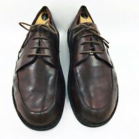 Finn Comfort Oxfords Men's Size 11 Medium Brown Leather Casual Comfort Shoes