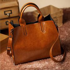 Fashion Women Lady Leather Bag Tote Handbag Purse Messenger Shoulder Bag