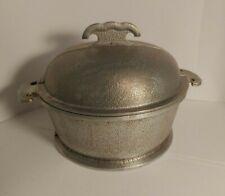 Vintage Guardian Service Aluminum Cookware Pot with Metal Lid (Large)