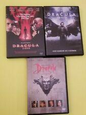 DRACULA - Lot of 3 DVDs - Bram Stocker's, Untold, & 2000, - See photos