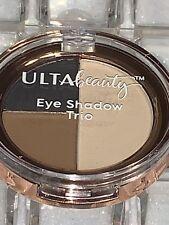 "Ulta ""EYE SHADOW TRIO (Black, Brown, Cream)"" Limited Edition *TRAVEL SIZE--RARE*"