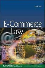 E-Commerce Law by Paul Todd (2005, Paperback)