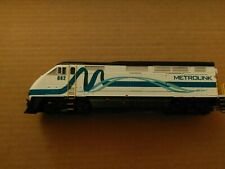 ✅ Athearn Metrolink #882 Ribbon Scheme EMD F59PHI HO DCC and Econami Sound!
