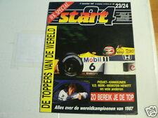 START 84 1987-23/24 WK SPECIAL, F1 PIQUET,GARDNER,MANG,GRESINI,SUZUKI ENDURANCE,
