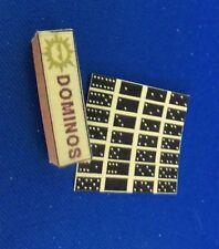 Dollhouse Miniature 1:12 Scale Domino Game
