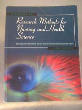 HANDBOOK OF RESEARCH METHODS FOR NURSING & HEALTH SCIENCE  2nd Ed: