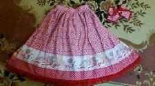 Kawaii Cute Dolly Fairy Kei Kuma Teddybear Mori Lace Bodyline Sweet Lolita skirt