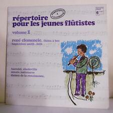 """33T REPERTOIRE POUR LES JEUNES FLUTISTES Vol 1 Vinyle LP 12"""" - HARMONI MUNDI 981"""