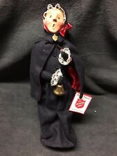 Byers Caroler - Salvation Army Lady with bell in mint condition w/ tags & story