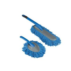 2pc Pack Set Microfiber Duster Cleaning Brush Car Office or Home