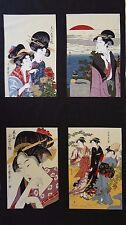 QUILT FABRIC KONA BAY JAPANESE GEISHA PANEL 100% COTTON FABRIC SEWING CRAFT