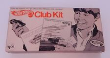 Redline Hot Wheels Club Kit Includes 1970 Mustang Boss Hoss and papers R13057