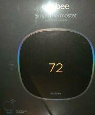 ecobee SmartThermostat w/ Voice Control (Black) New!!
