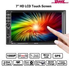 "7""Doppel 2Din Autoradio HD Touchscreen GPS Navi RDS Bluetooth Mit Rückfahrkamera"