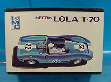 DL 1/25 VINTAGE ORIGINAL IMC 108 MECOM LOLA T-70 RACE CAR PLASTIC MODEL KIT