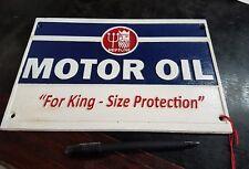 NEPTUNE MOTOR OIL CAST IRON PLAQUE SIGN
