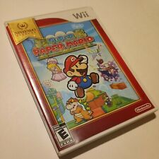 🍄 Super Paper Mario Wii Nintendo Selects Edition ⭐ COMPLETE Free Same Day Ship