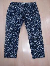 """U77 GAP slim cropped capri multi color stretch pants Sz 10 inseam 25"""""""
