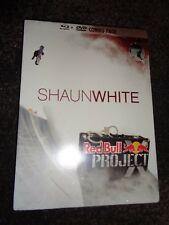 NEW DVD & BLU RAY COMBO PACK Shaun White Project X Snowboarding Colorado REDBULL
