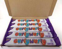 12 X CADBURY Curly Wurly Chocolate Bars - 12 X 26G