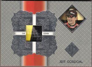 AWESOME 2013 Total Memorabilia JEFF GORDON 2-Color Race Used Car Cover TM-JG