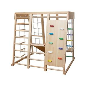 Pikler Jungle gym - W3 - TINNITOTS - Montessori Inspired Wooden Indoor gym