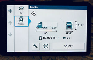 "Garmin 7"" dezi OTR700 Trucker GPS"