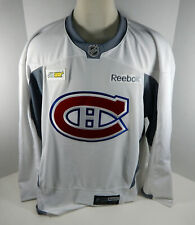 Montreal Canadiens  Game Issued White Practice Jersey MTL0069