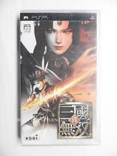 Import JAP - jeu Shin Sangoku Musou / Dynasty Warrior sony PSP game spiel juego