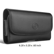 Leather Belt Case Pouch for Samsung Galaxy S5 Holster fit WITH OTTERBOX COMMUTER