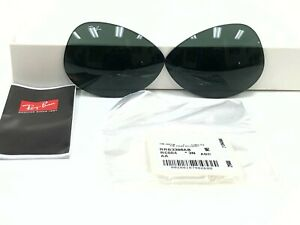AUTHENTIC RAY-BAN RB3386 004/71 63MM REPLACEMENT GREEN LENSES