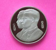 King Bhumibol Adulyadej Rama IX 1994 10 Baht Thailand Proof Coin Thammasat Thai