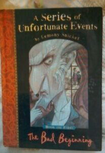 Series of Unfortunate Events  No.1 The Bad Beginning  Limited Edition.(WBR73)