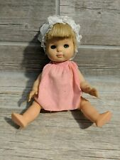 """Vintage HORSMAN YES NO Doll 1966 Hard Plastic 10.5"""" Molded Painted"""
