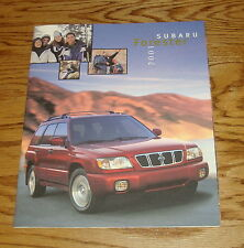 Original 2001 Subaru Forester Sales Brochure 01