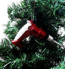 CHRISTMAS POWER DRILL ORNAMENT. POWER TOOLS ORNAMENT. CHRISTMAS DECORATION ORNAM