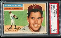 1956 Topps Baseball #180 ROBIN ROBERTS Philadelphia Phillies PSA 5.5 EX+