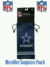 NFL Dallas Cowboys Microfiber Sunglasses Bag Pouch Protective Cover - Free Ship!