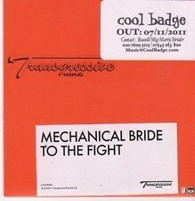 (CG142) Mechanical Bride, To The Fight - 2011 DJ CD
