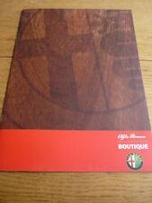ALFA Romeo Boutique Brochure JM