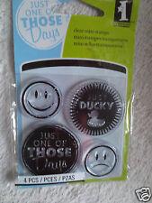 Inkadinkado Clear Mini Stamp Alternative Moods 60-30835 New