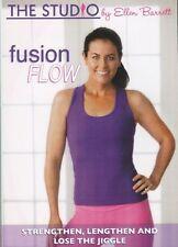 Pilates, Yoga, Ballet Fusion EXERCISE DVD - ELLEN BARRETT LIVE Fusion Flow!