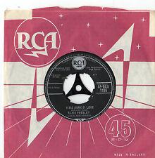 "Elvis Presley - A Big Hunk O' Love  7"" Single 1959"